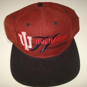 Other - INDIANA HOOSIERS VINTAGE SNAPBACK HAT CAP